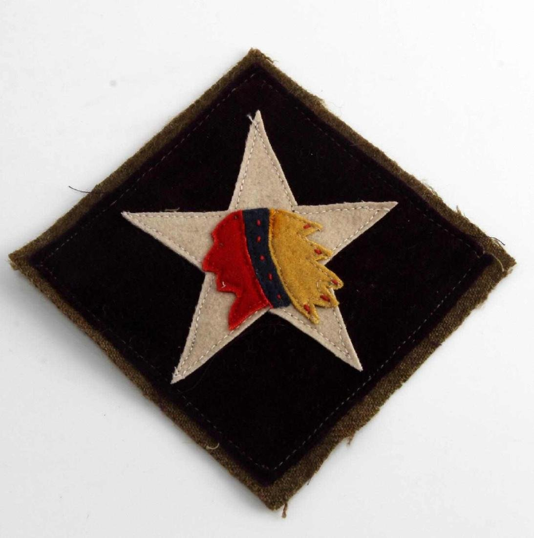 USMC WWI 6TH MARINE MG REGIMENT SHOULDER PATCH