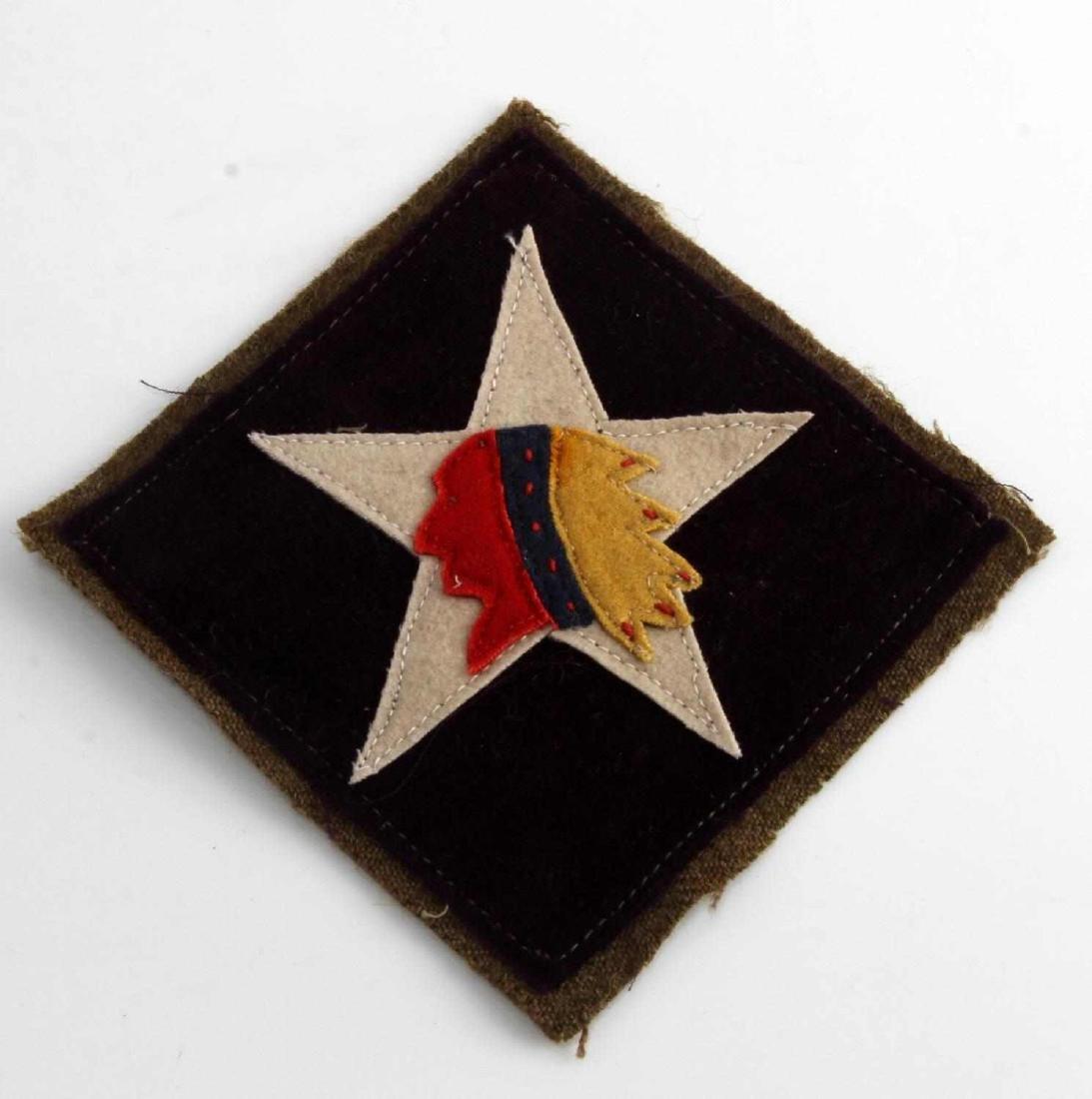 USMC WWI 6TH MARINE MG REGIMENT SHOULDER PATCH