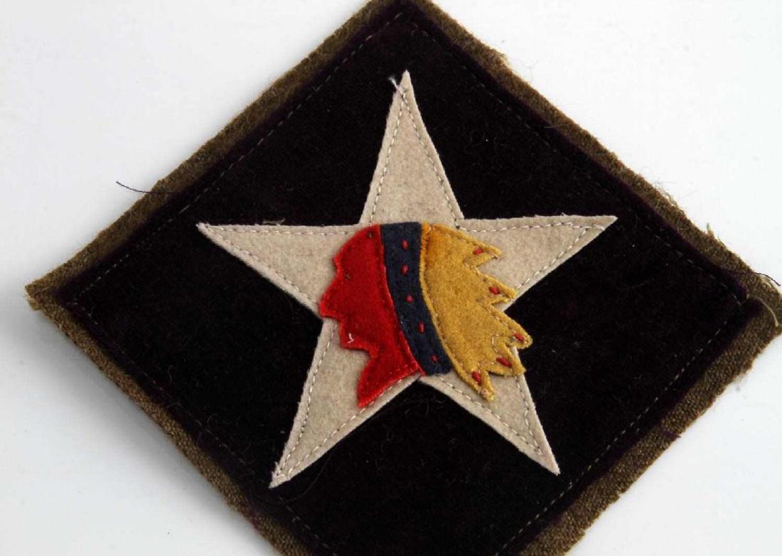 USMC WWI 6TH MARINE MG REGIMENT SHOULDER PATCH - 2