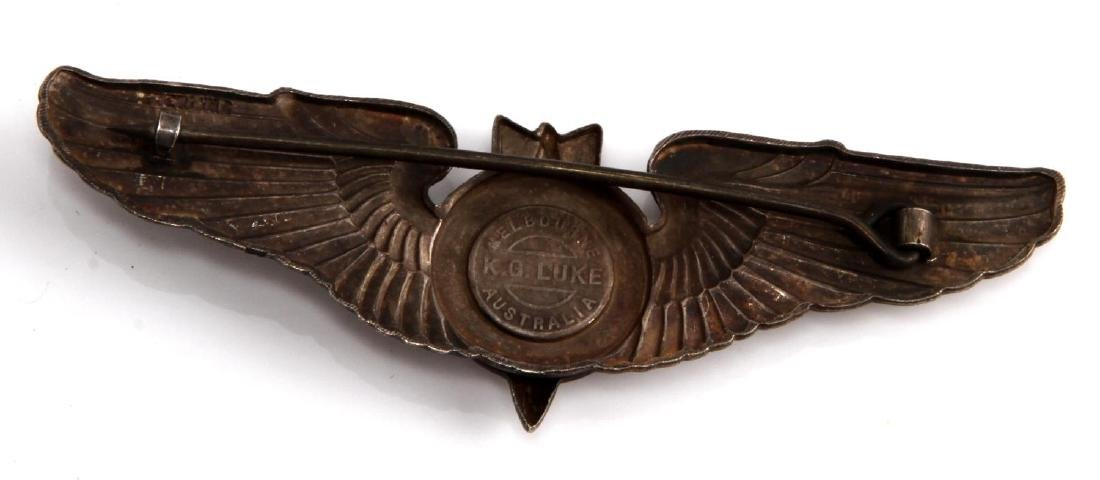 USAAF WWII BOMBADIER WING STERLING AUSTRALIA - 2