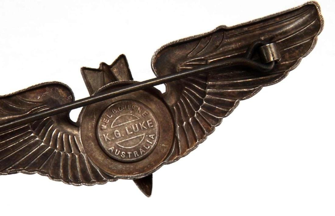 USAAF WWII BOMBADIER WING STERLING AUSTRALIA - 3