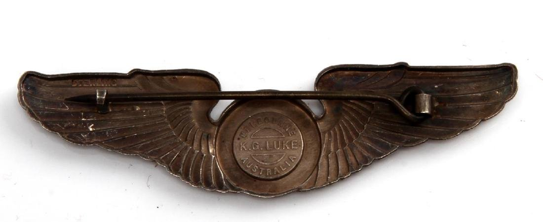 USAAF WWII ARMY AIR FORCE OBSERVER WING STERLING - 2