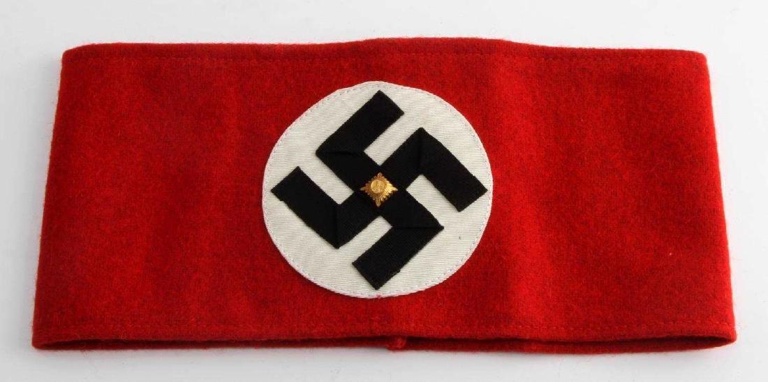WWII GERMAN THIRD REICH POLITICAL NSDAP ARMBAND
