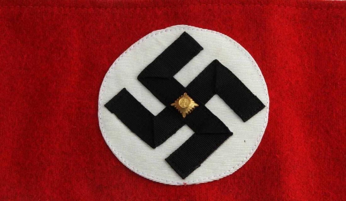 WWII GERMAN THIRD REICH POLITICAL NSDAP ARMBAND - 2