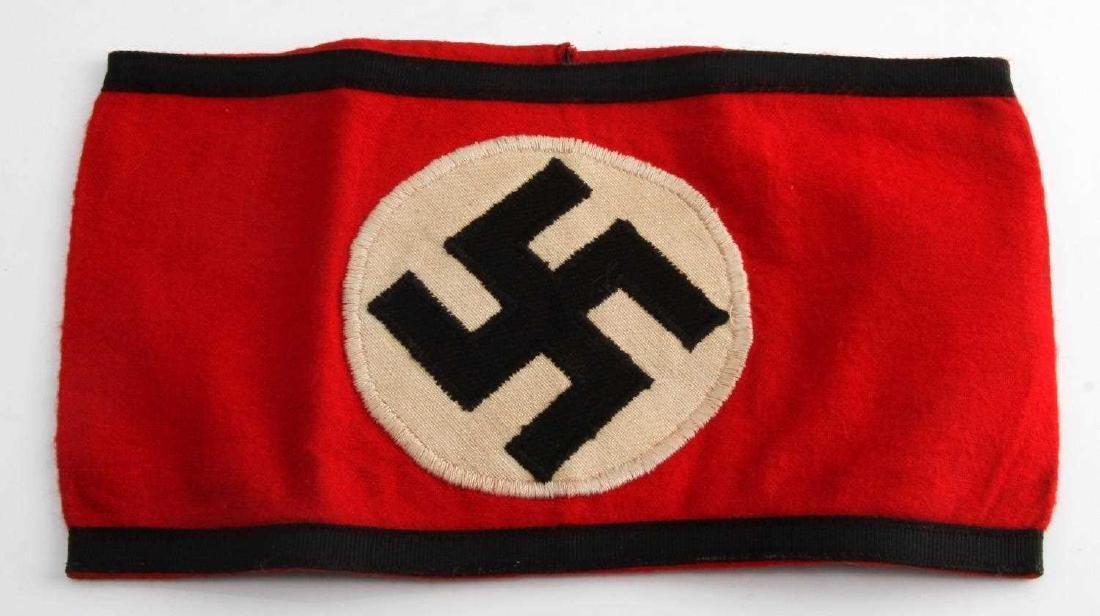 WWII GERMAN THIRD REICH WAFFEN SS ARM BAND