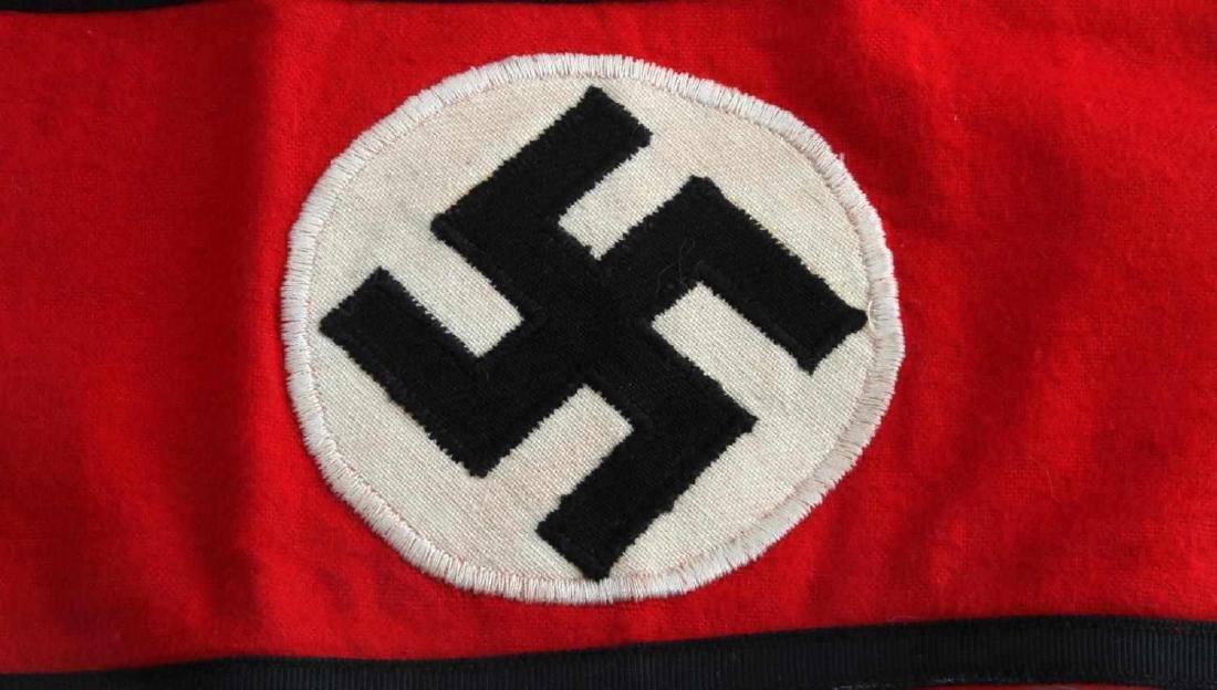 WWII GERMAN THIRD REICH WAFFEN SS ARM BAND - 2