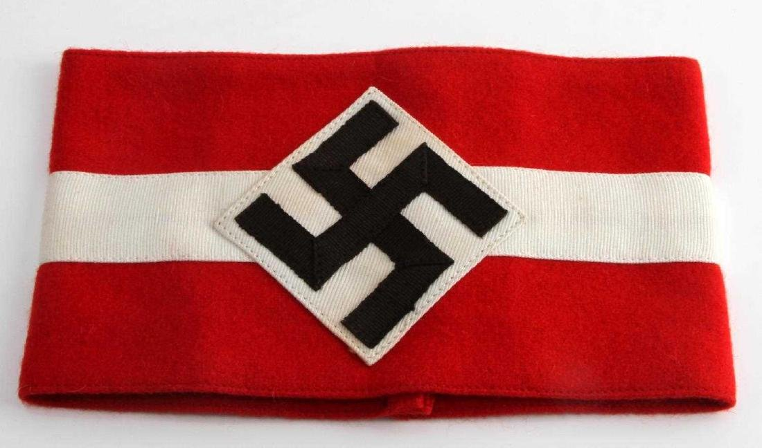 WWII GERMAN THIRD REICH HITLER YOUTH ARMBAND