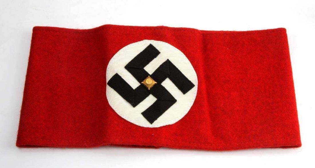 GERMAN WWII SA STURM ABTEILUNG SWASTIKA ARM BAND