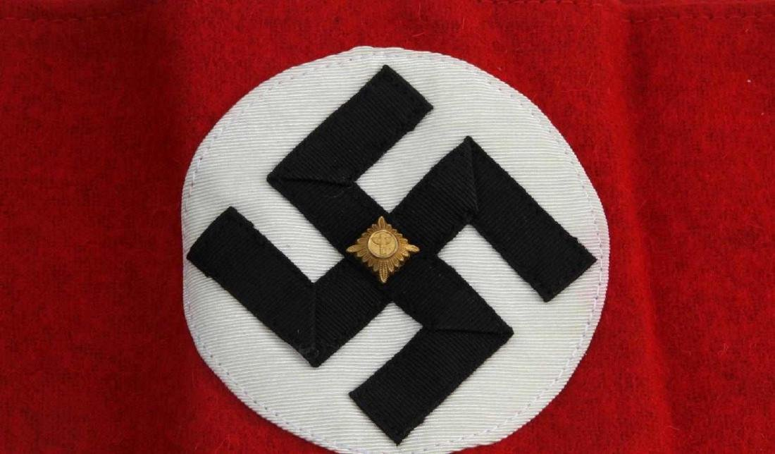 GERMAN WWII SA STURM ABTEILUNG SWASTIKA ARM BAND - 2