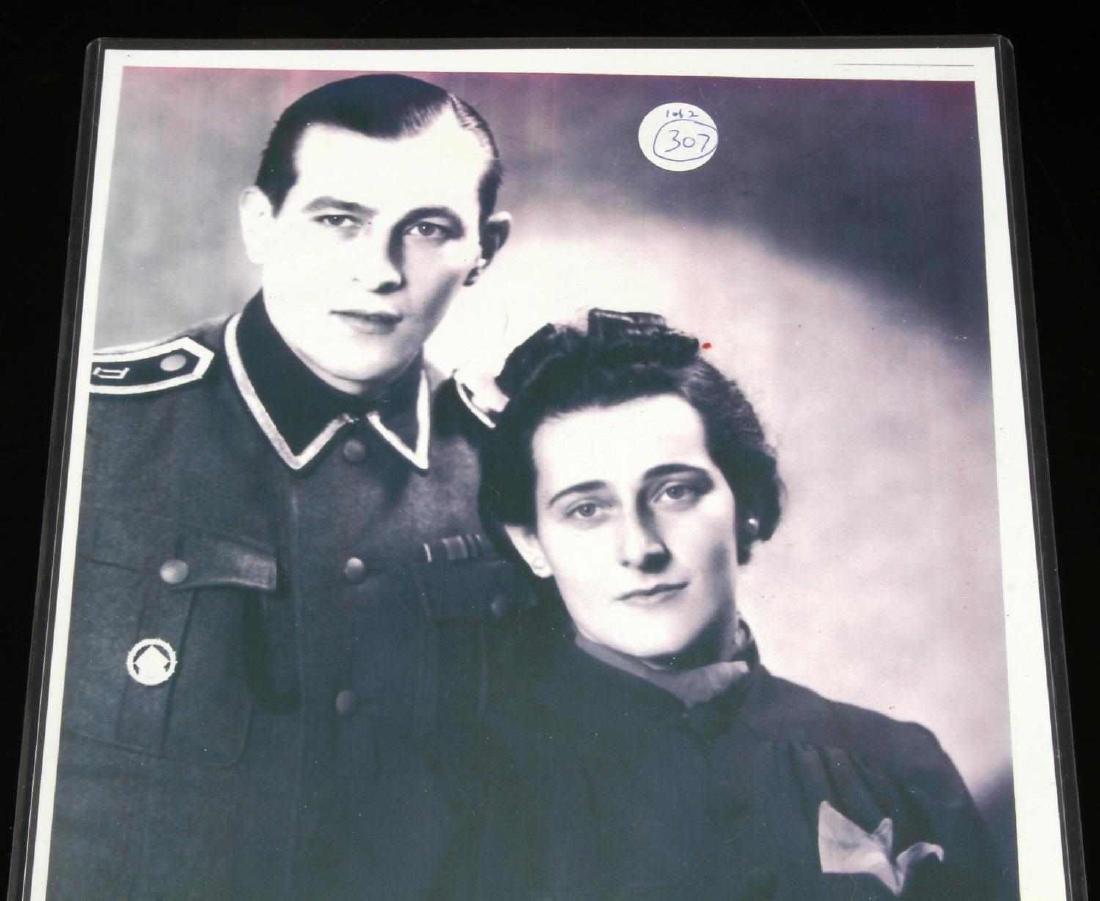 GERMAN WWII WAFFEN SS 1937 2ND CLS MARKSMAN BADGE - 4
