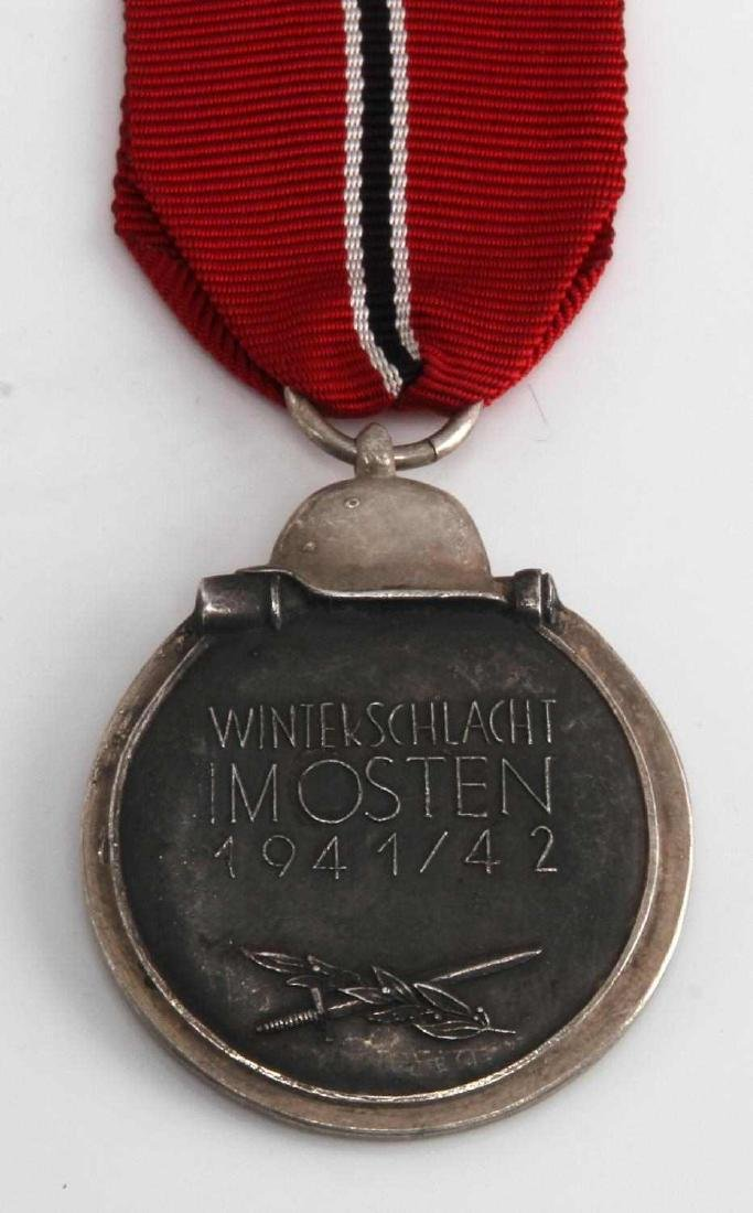 GERMAN WWII EASTERN FRONT DECORATION MEDAL - 3