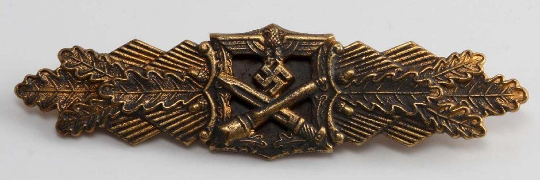 GERMAN WWII ARMY GOLD CLOSE COMBAT CLASP