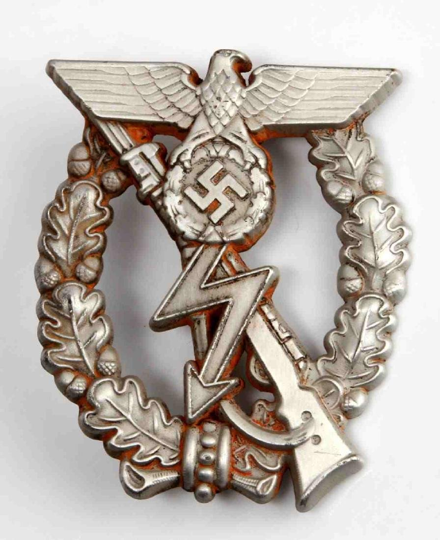 GERMAN WWII ARMY PROTOTYPE INFANTRY ASSAULT BADGE