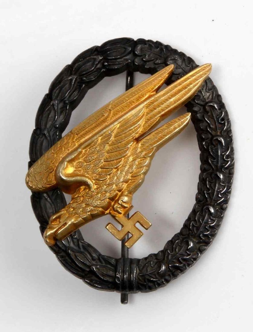 GERMAN WWII LUFTWAFFE FALLSCHIRMJAGER JUMP BADGE