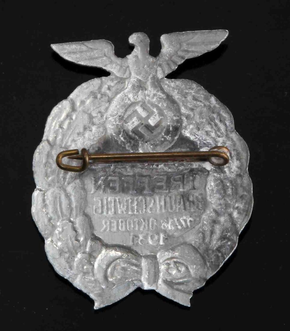 GERMAN WWII 1931 SA TREFFEN RALLY BADGE 3RD REICH - 2