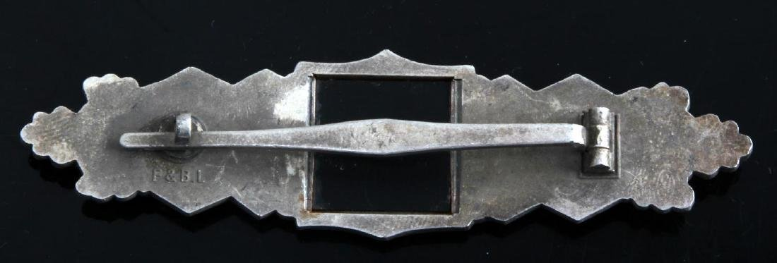 GERMAN WWII ARMY SILVER CLOSE COMBAT CLASP - 2
