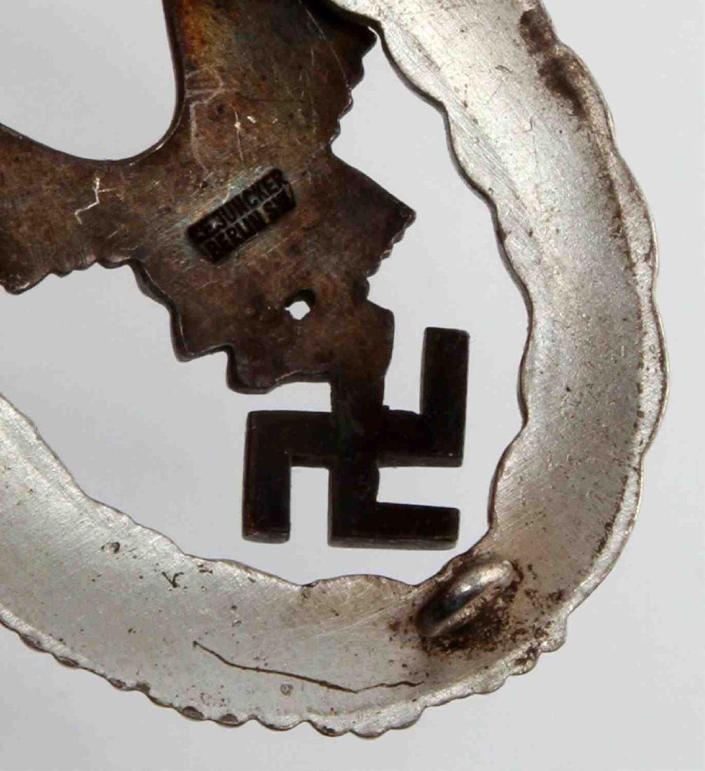GERMAN WWII LUFTWAFFE PILOT BADGE THIRD REICH CASE - 4