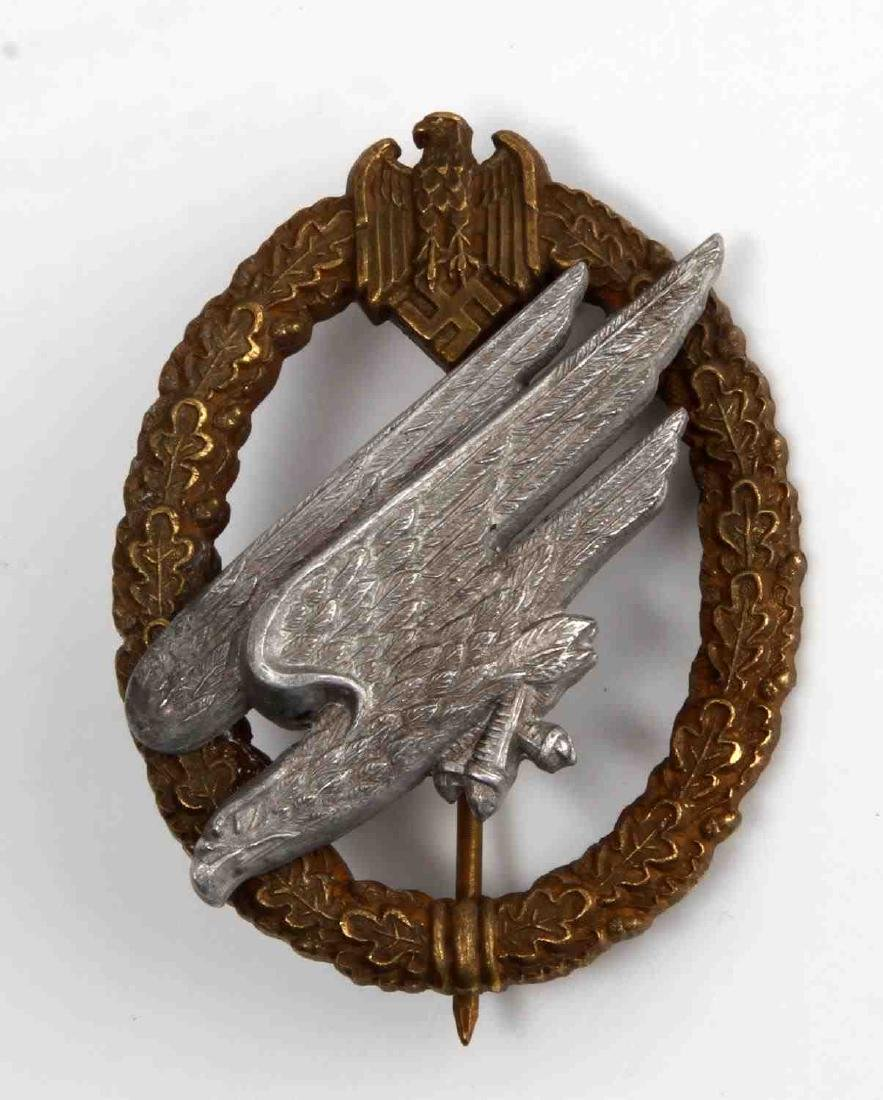 WWII GERMAN THIRD REICH PARATROOPER JUMP BADGE
