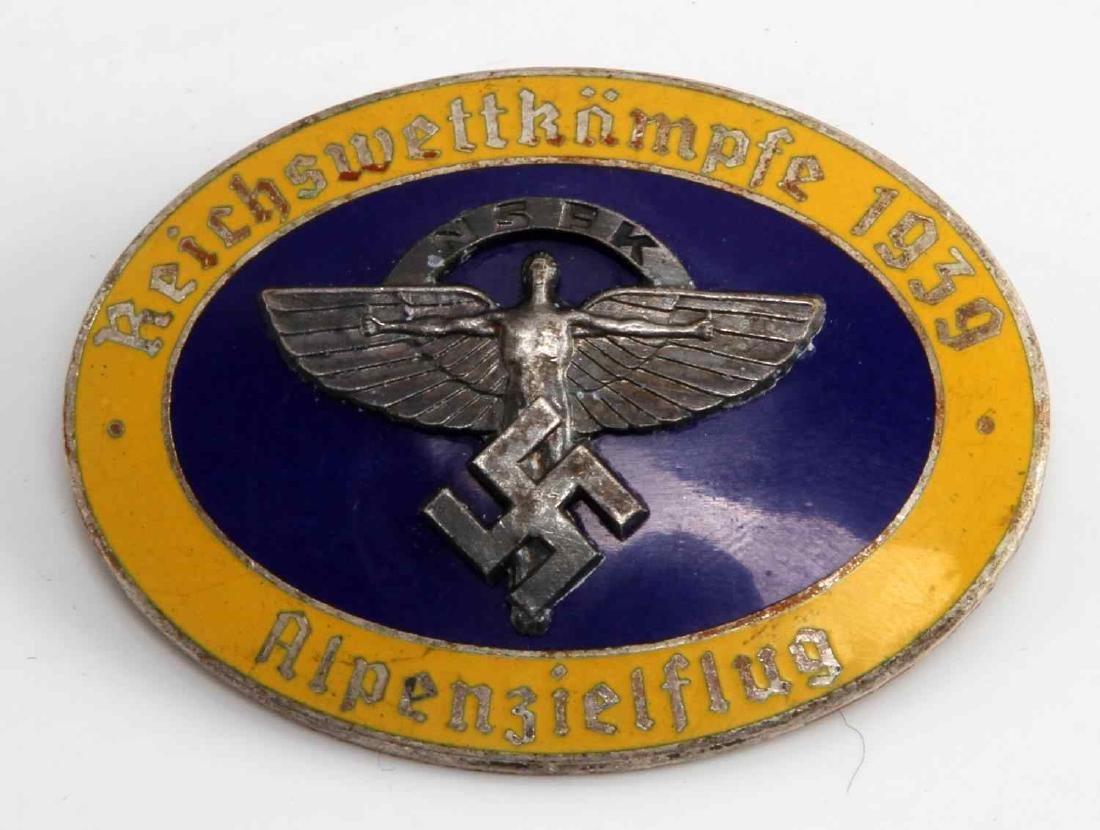 WWII GERMAN THIRD REICH NSFK GLIDER KORPS BADGE