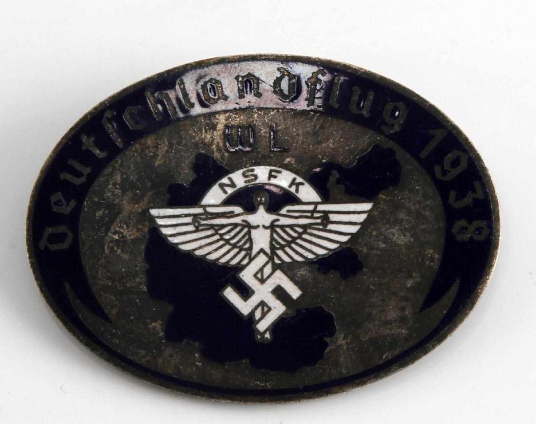 WWII GERMAN THIRD REICH NSFK GLIDER KORPS BADGE