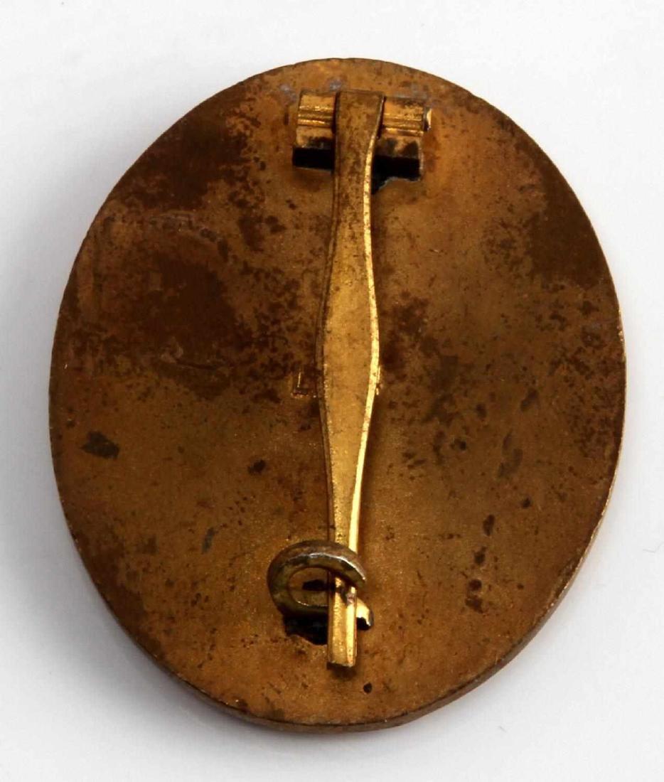 WWII GERMAN THIRD REICH GOLD WOUND BADGE - 2