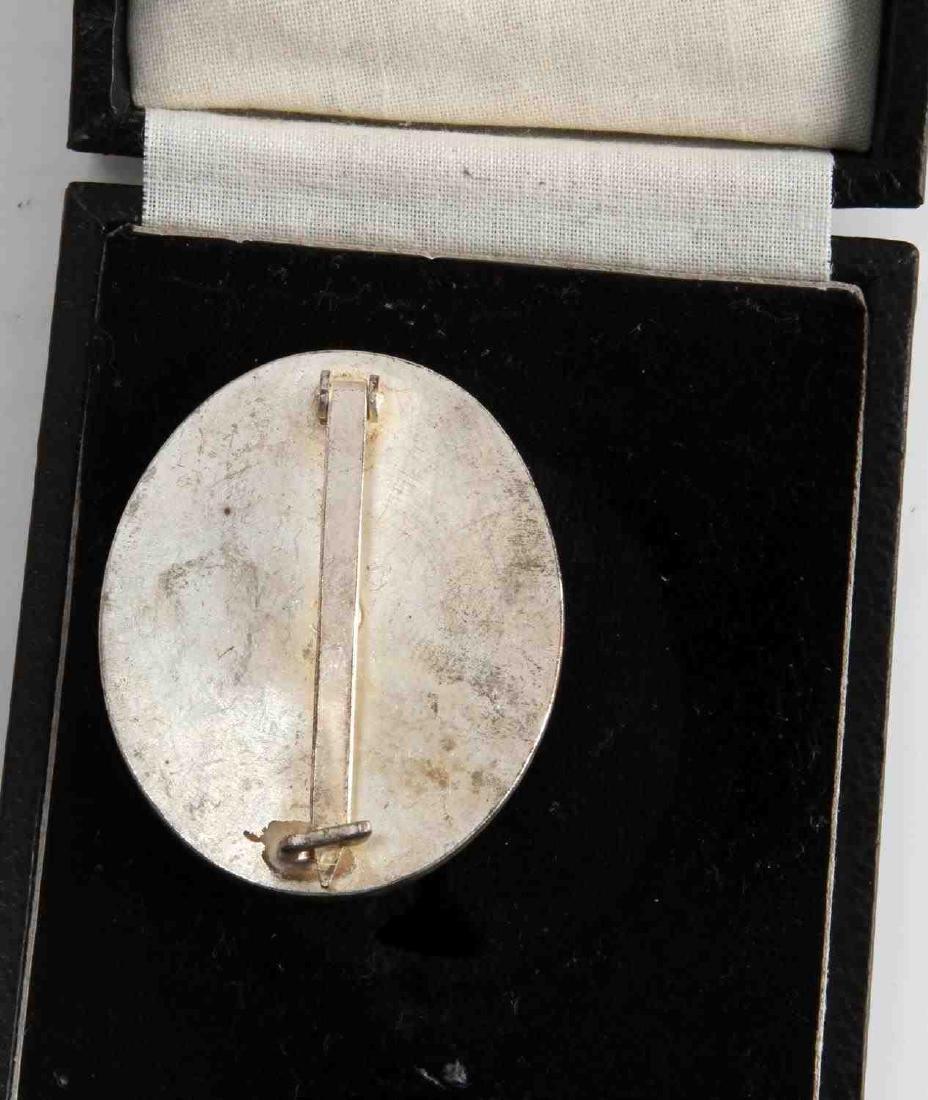 WWII GERMAN THIRD REICH SILVER WOUND BADGE CASED - 3