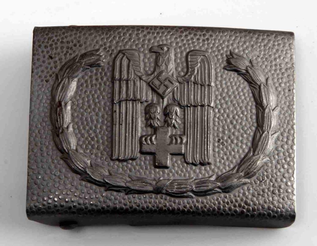 WWII GERMAN THIRD REICH RED CROSS EM BELT BUCKLE