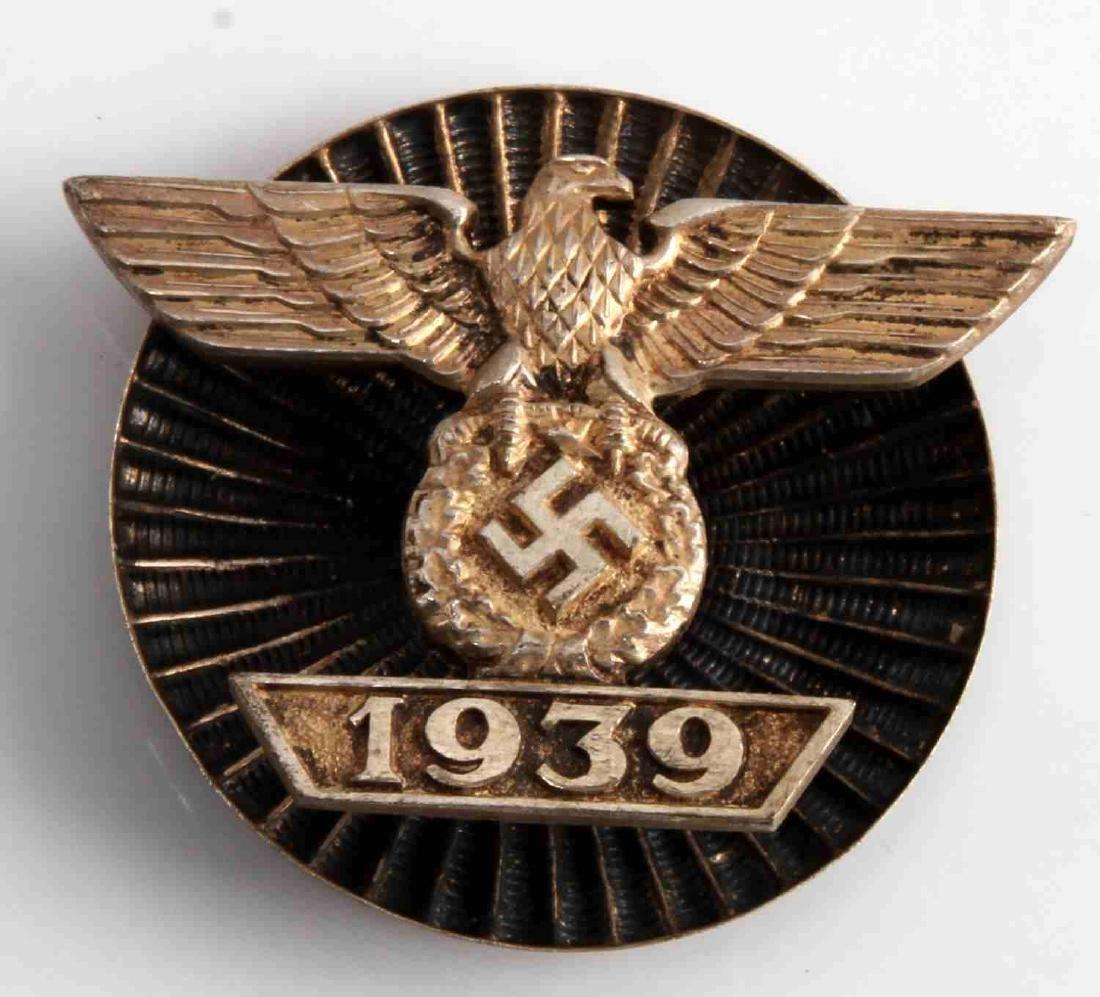 WWII GERMAN 3RD REICH 1ST CLASS IRON CROSS SPANG