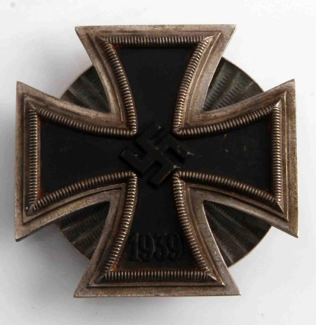 WWII GERMAN 3RD REICH 1ST CLASS IRON CROSS