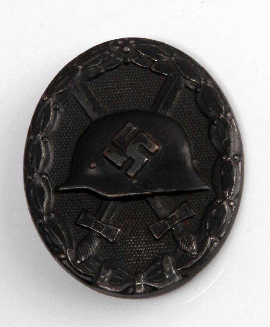 WWII GERMAN THIRD REICH BLACK WOUND BADGE