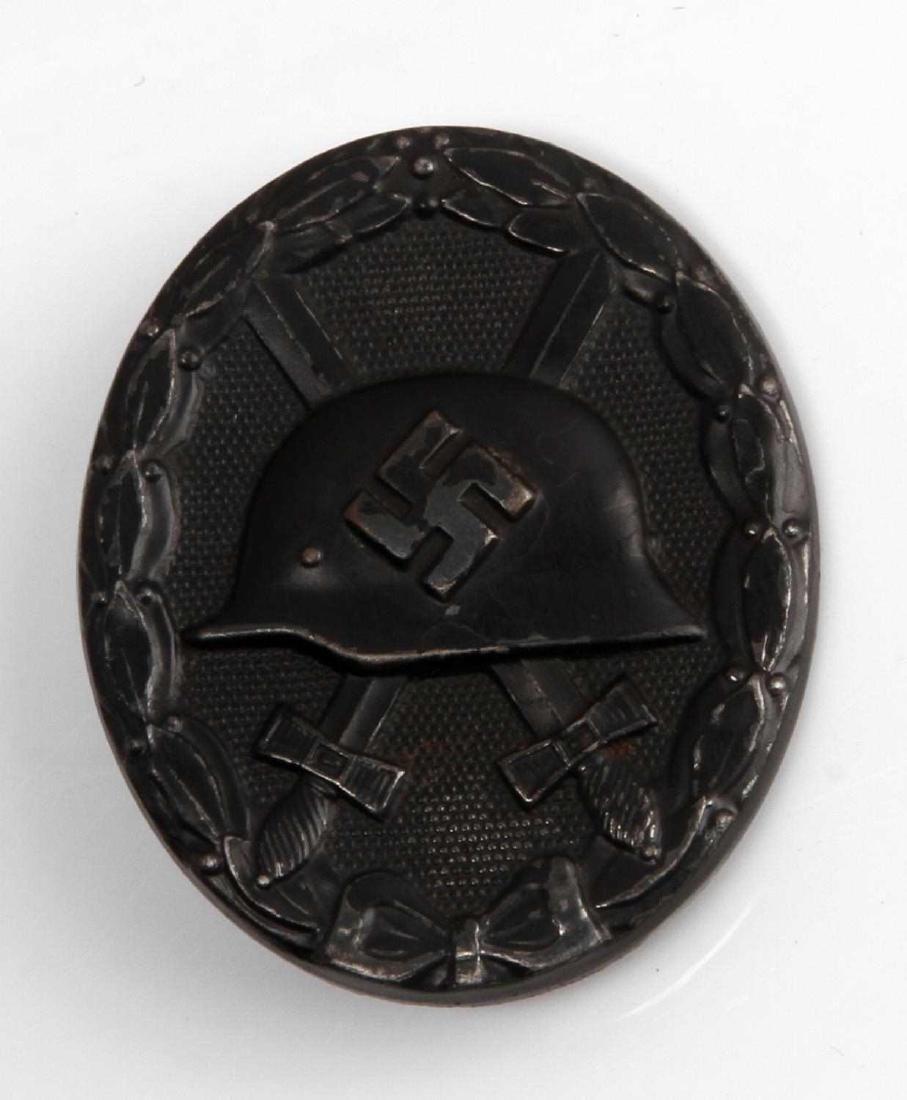 WWII GERMAN THIRD REICH BLACK WOUND BADGE