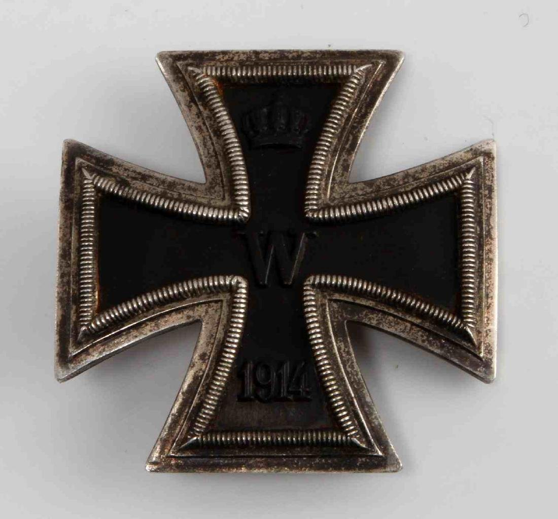 IMPERIAL GERMAN WWII VAULTED 1ST CLASS IRON CROSS