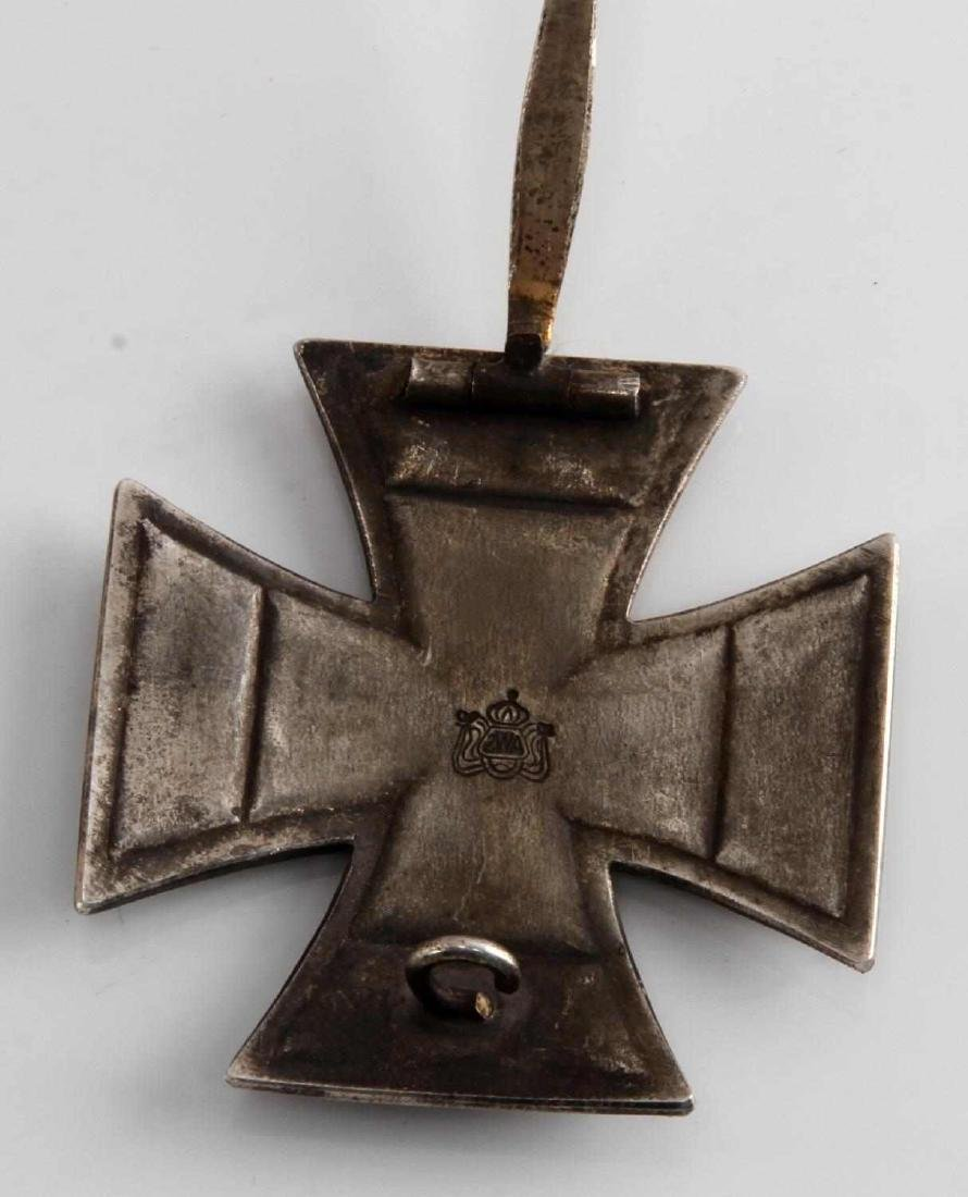IMPERIAL GERMAN WWII VAULTED 1ST CLASS IRON CROSS - 3