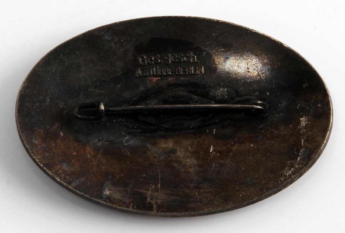 WWII GERMAN 3RD REICH PRE OLYMPICS RACE CAR BADGE - 2