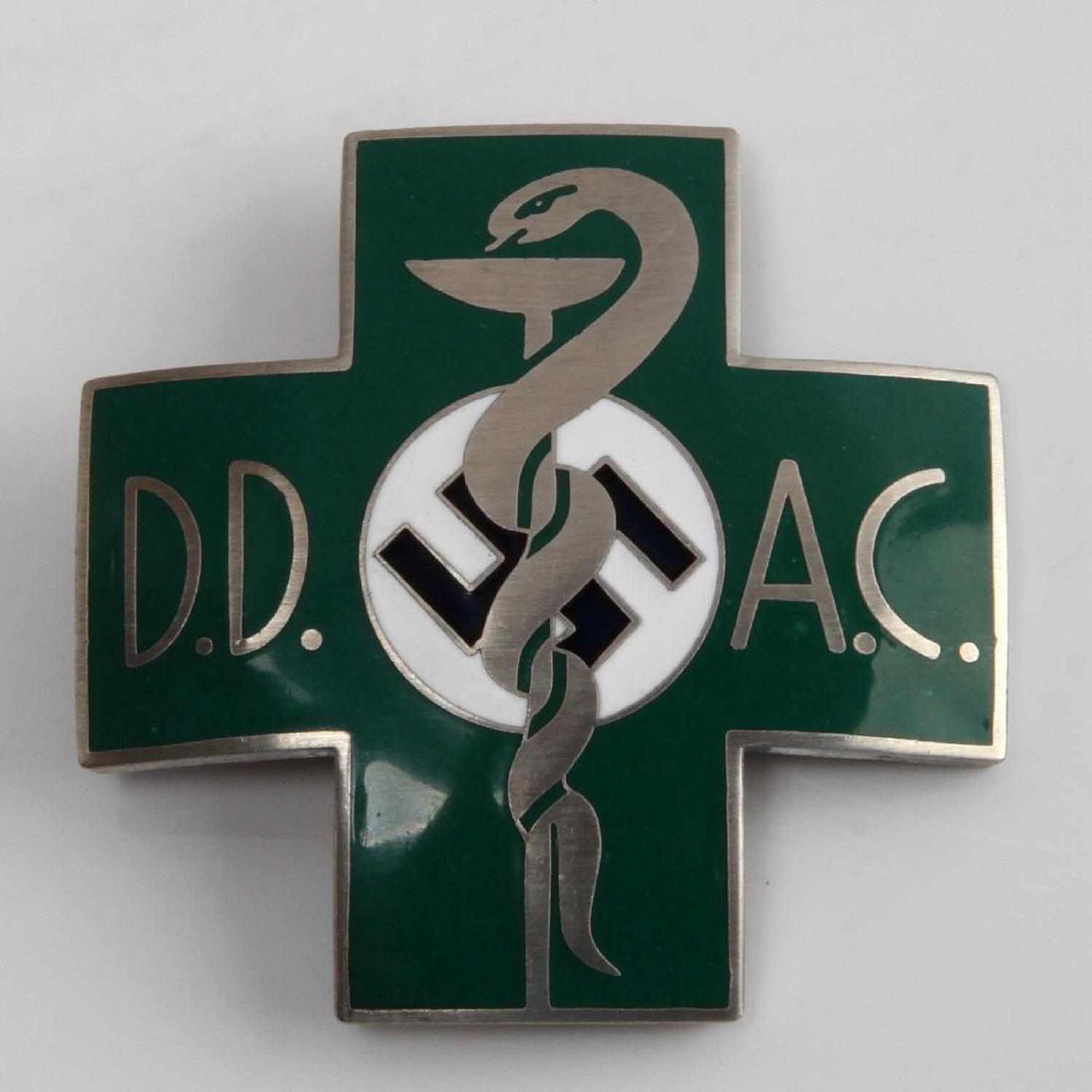 WWII GERMAN THIRD REICH MEDICAL DOCTOR BADGE