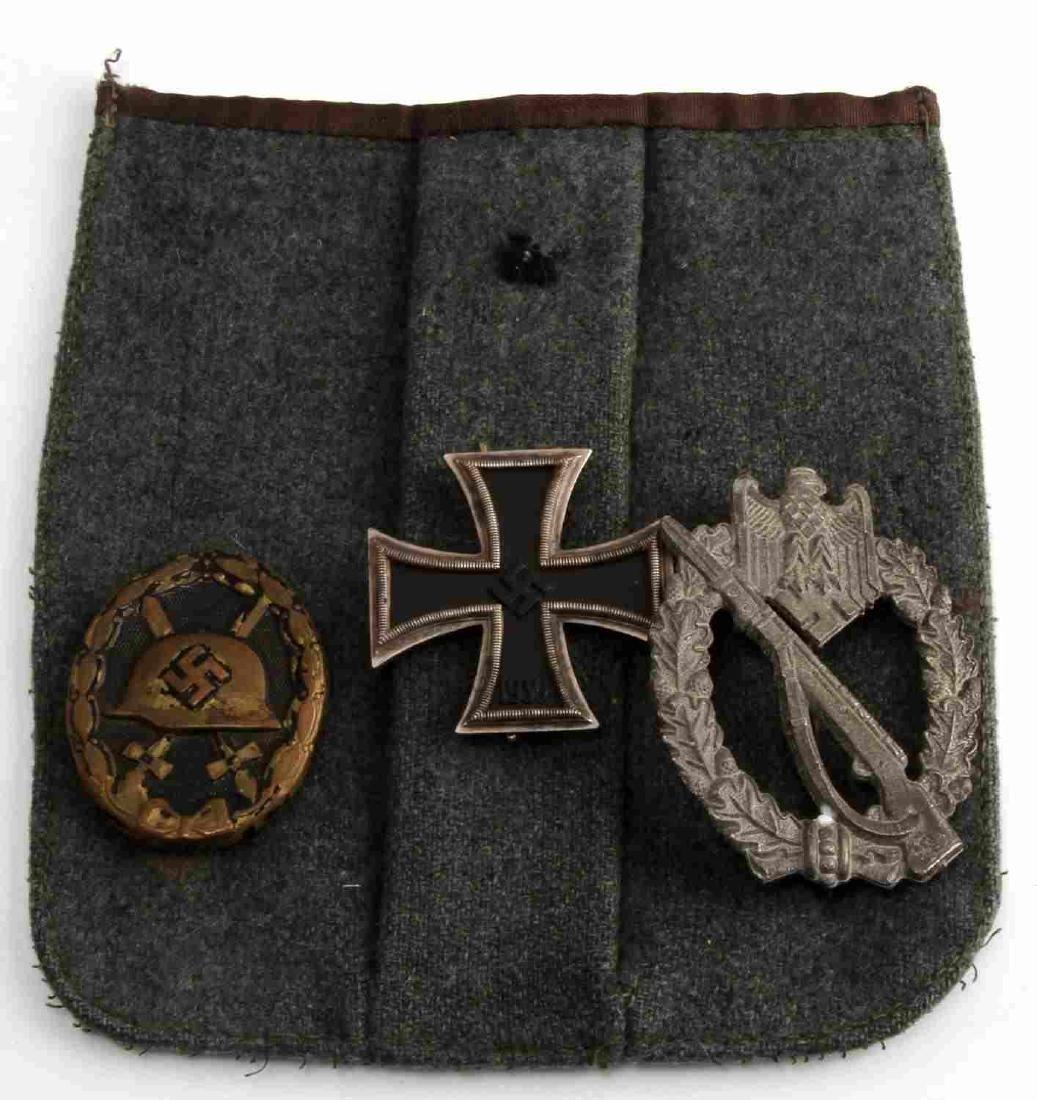 WWII GERMAN THIRD REICH BADGE SET ON POCKET