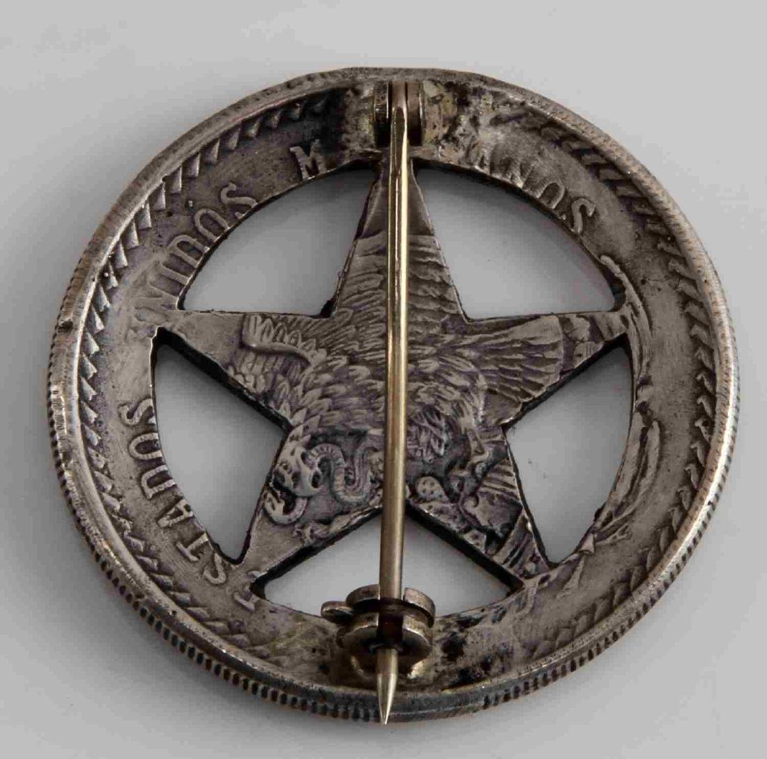 OLD WEST FRONTIER BATALLION TEXAS RANGERS BADGE - 2