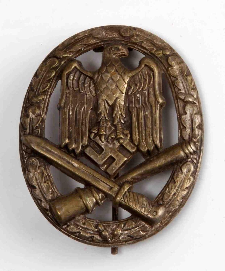 GERMAN WWII THIRD REICH GENERAL ASSAULT BADGE