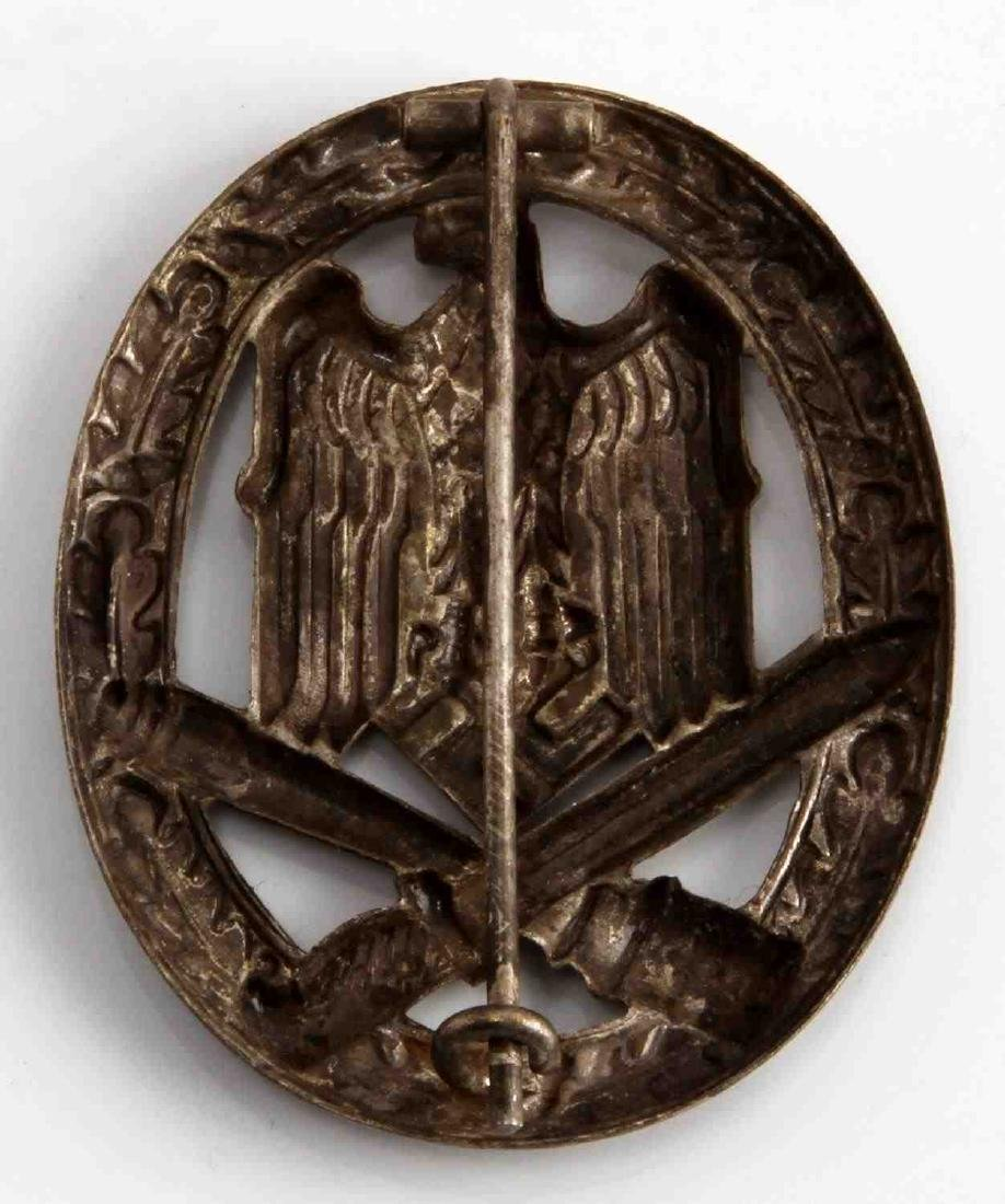 GERMAN WWII THIRD REICH GENERAL ASSAULT BADGE - 2