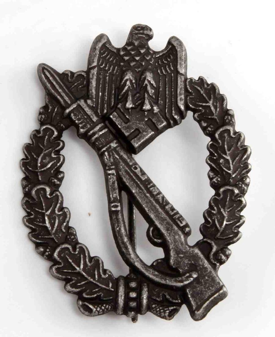 GERMAN WWII SILVER ARMY INFANTRY ASSAULT BADGE