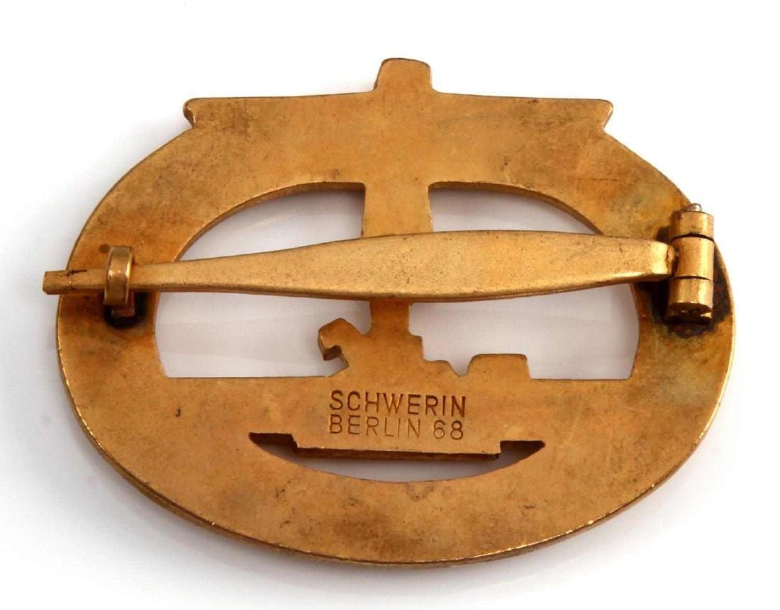 GERMAN WWII NAVAL KREIGSMARINE U BOAT SUB BADGE - 2
