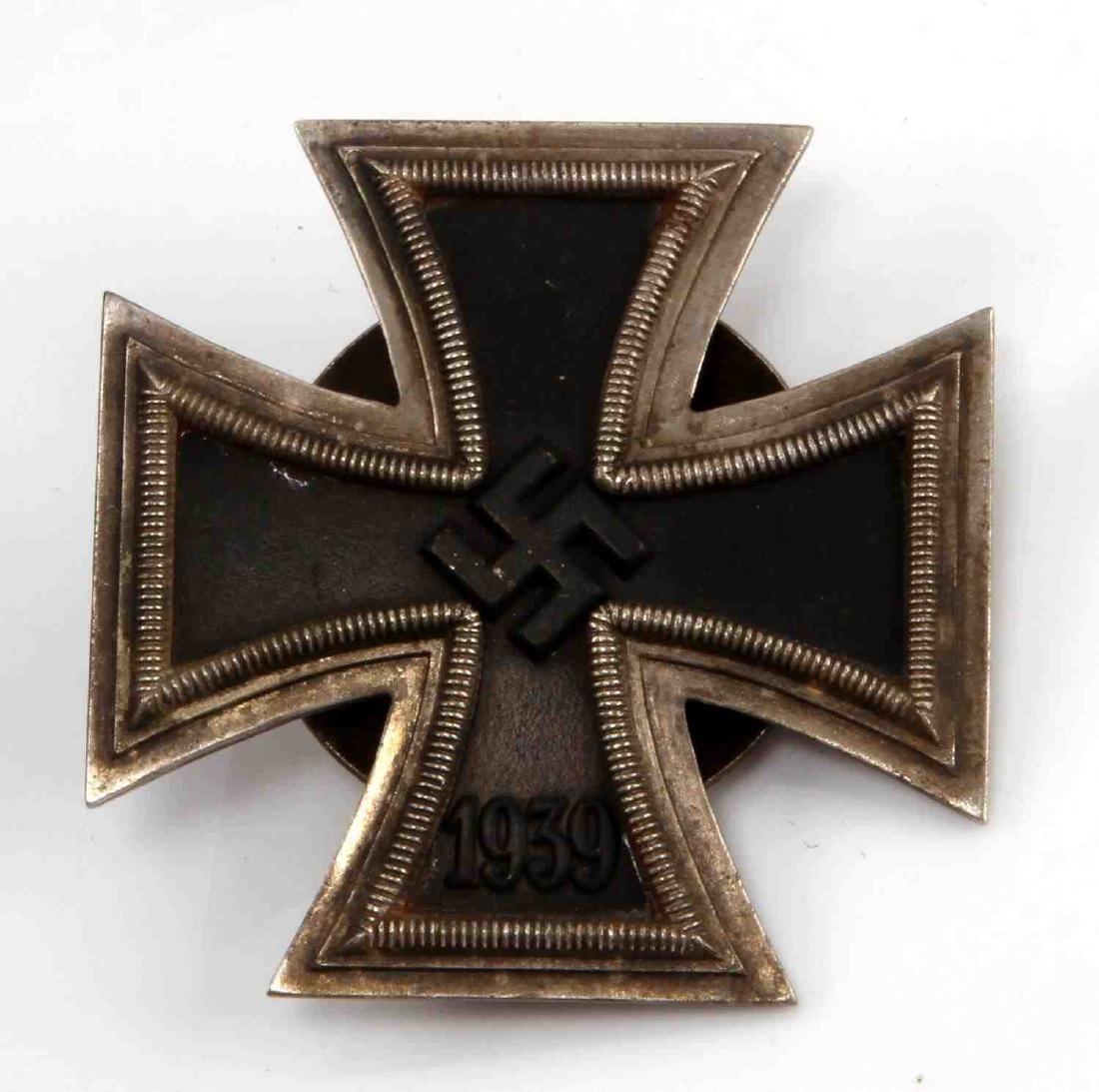 GERMAN WWII THIRD REICH 1ST CLASS IRON CROSS MEDAL