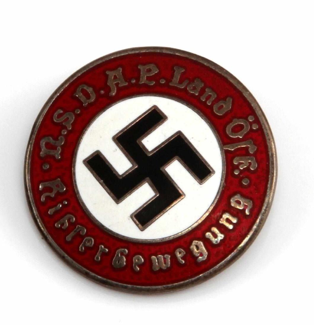 GERMAN WWII AUSTRIAN NSDAP PARTY MEMBER BADGE