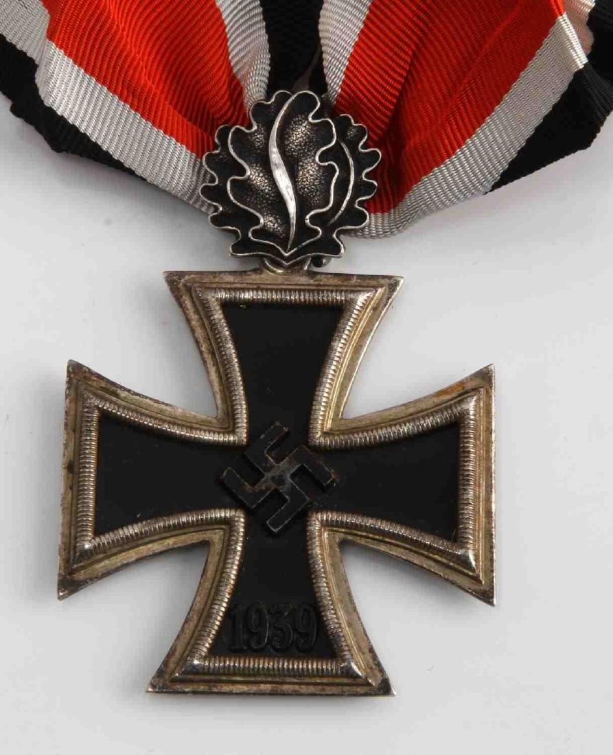 GERMAN WWII TR KNIGHTS CROSS WITH OAK LEAVES - 2