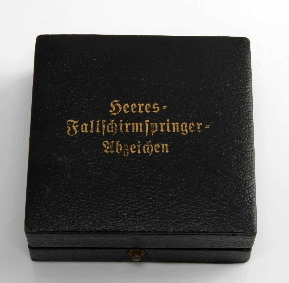 WWII GERMAN THIRD REICH FALLSCHIRMJAGER JUMP BADGE - 5