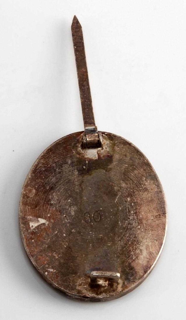 WWII GERMAN THIRD REICH SILVER COMBAT WOUND BADGE - 3