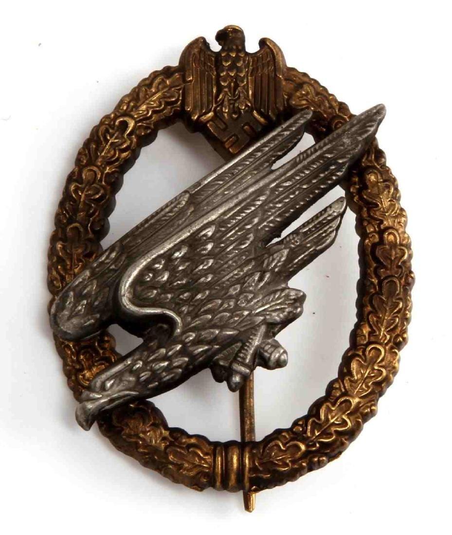 GERMAN WWII ARMY PARATROOPER FALLSCHIRMJAGER BADGE