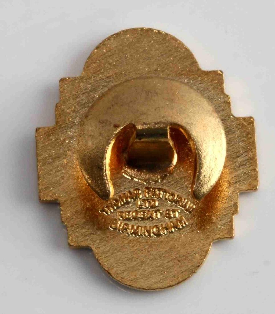GERMAN WWII 1936 ANGLO GERMAN YOUTH MOVEMENT BADGE - 2