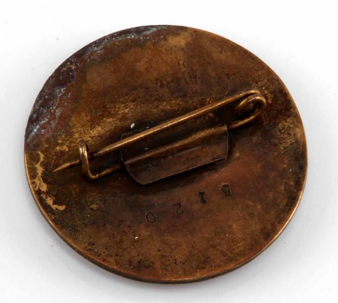 GERMAN WWII 3RD RCH 1939 1940 MUSSERT GARDE BADGE - 2