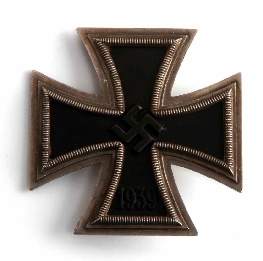 GERMAN WWII TR ARMY PANZER 1ST CLASS IRON CROSS